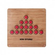 Nim- Tactix Oyunu (ahşap)