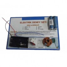 Elektrik Deney Seti (Pil Dahil)