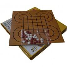 Surakarta & Dümen -1 kutuda 2 Farklı Oyun- (Kaliteli Ahşap)