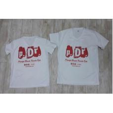 p.Dr. Logolu Çift Yönlü Baskı T-Shirt (Kaliteli ve Sportif)