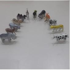 12'li Hayvanlar Alemi Seti (Oyun Terapisi Uygulamaları İçin)